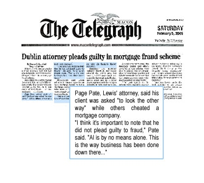 Lawyer and former prosecutor retains our firm to represent him in a federal mortgage fraud case