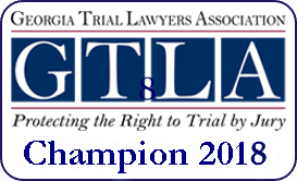 Georgia Trial Lawyers Association Champion 2018